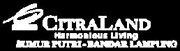 logo putih desktop citraland bandar lampung
