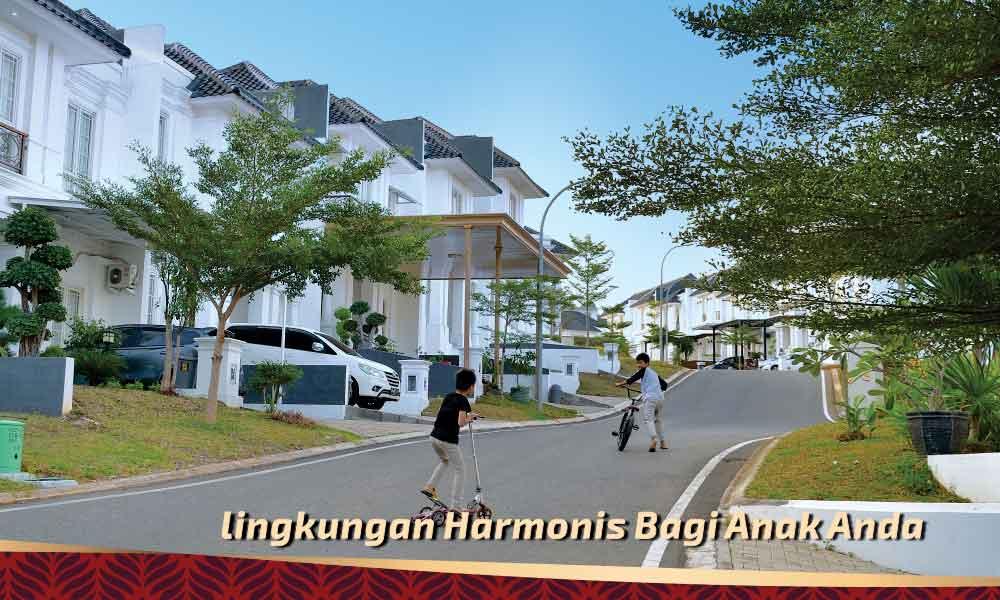 tips rumah galeri lingkungan harmonis bagi anak di citraland bandar lampung