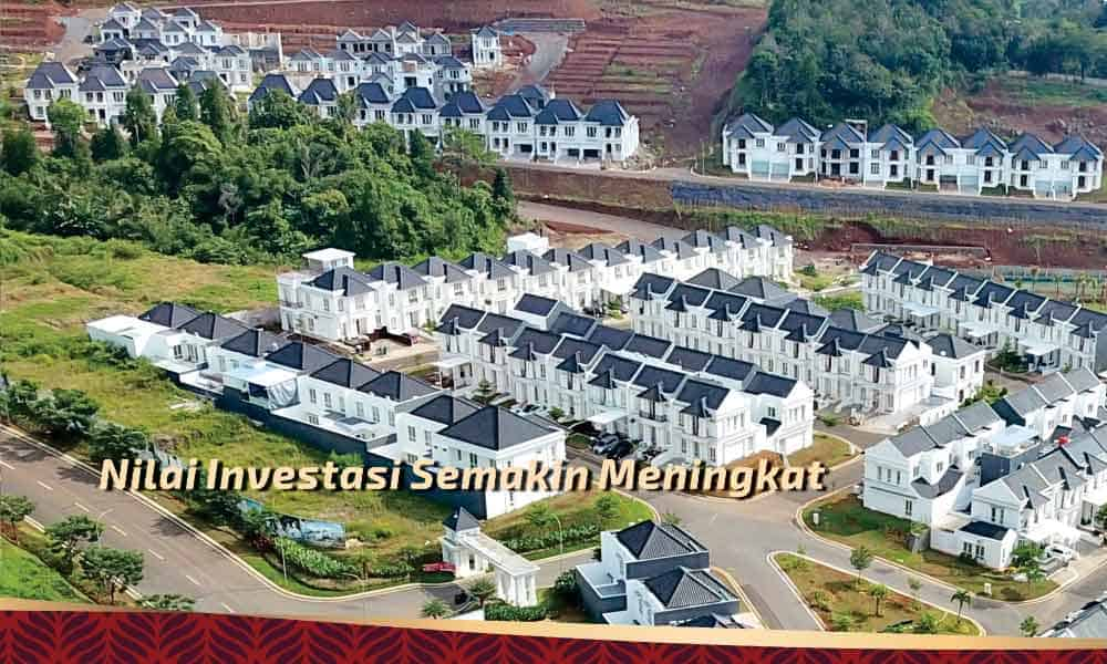 nilai investasi meningkat di citraland bandar lampung