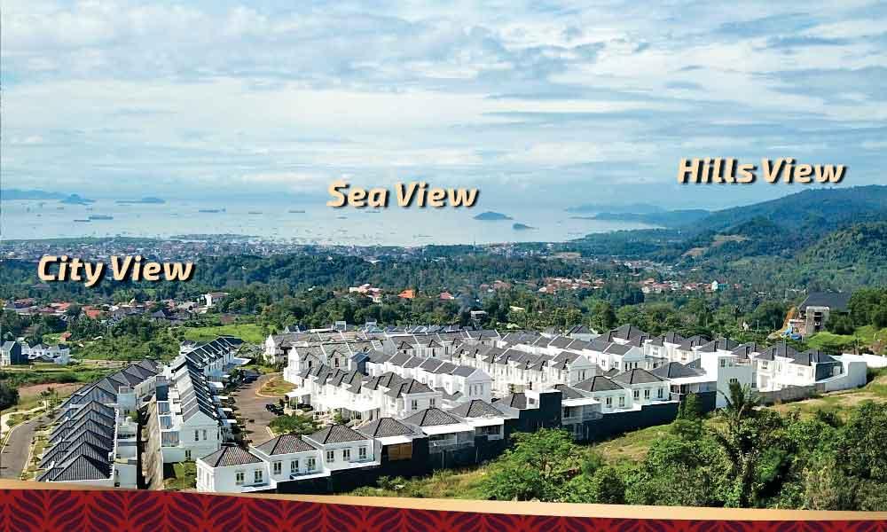 3 panorama perumahan citraland bandar lampung